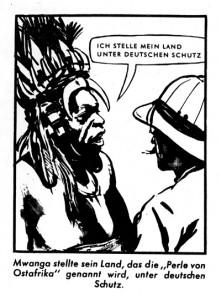 F.W. Richter-Johnson: Clever Stolz Bildgeschichte. Die Bildfolge ist allerdings vor Richter-Johnsons bedeutenderen Beiträgen zur deutschen Comicgeschichte (