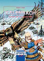 Kalenbach. Schnee, der auf Tusche fällt