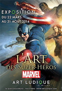 L'Art Des Super Heroes