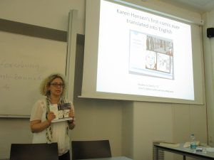 Sarah Lightman (Glasgow University) discusses Jewish women's comics