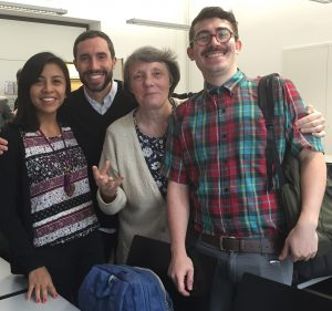 The authors of this review: (left to right) Laura Nallely Hernández Nieto, Pablo Turnes, Lia Roxana Donadon and Amadeo Gandolfo